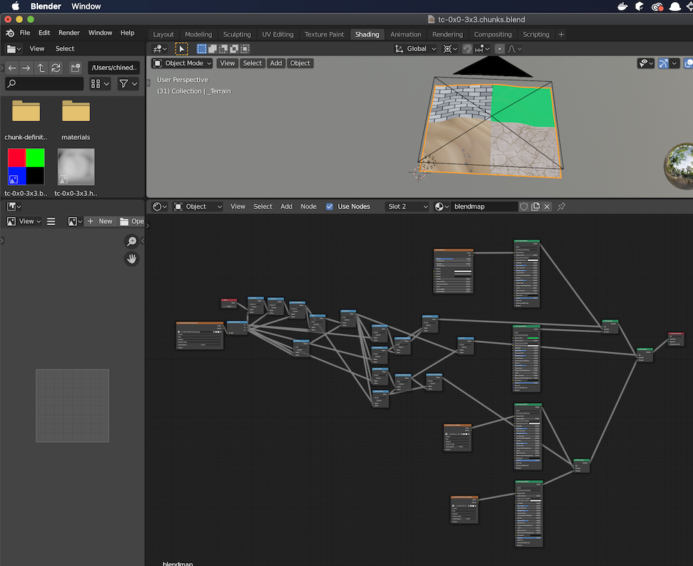 Blendmap in Blender
