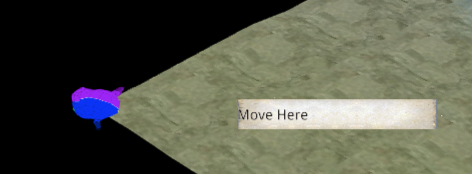 Move here interaction